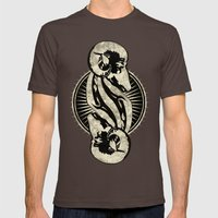 Aries the Ram Mens Fitted Tee Brown SMALL