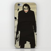 The Dark Knight: Joker iPhone & iPod Skin