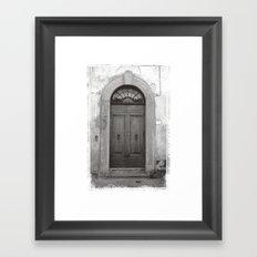 Rome Door 1 Framed Art Print
