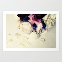 Rose Petal Art Print