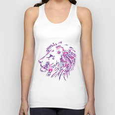 Aztec Lion Unisex Tank Top