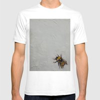 Bumblebee Mens Fitted Tee White SMALL