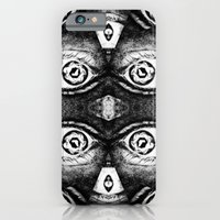 iPhone & iPod Case featuring I've got even more eyes on you! by Molzography