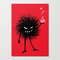 Evil Bug Made A Love Potion For You Canvas Print