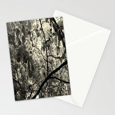 Monochrome Leaf's  Stationery Cards