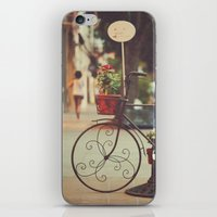 The Bike With The Flower… iPhone & iPod Skin