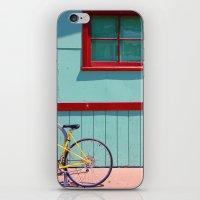 Yellow Bicycle iPhone & iPod Skin