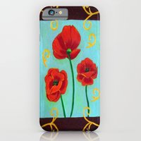 Poppies-4 iPhone 6 Slim Case