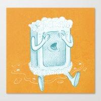 Rub A Dub, D'oh! Canvas Print