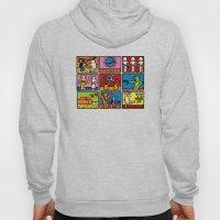 Keith Haring & star W.2 Hoody