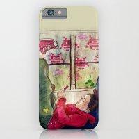 iPhone & iPod Case featuring Girls & Video Games by Danielle Feigenbaum