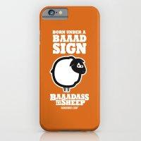 Baaadass the Sheep: Born Under a Baaad Sign iPhone 6 Slim Case