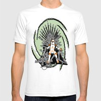 Game Of Clones Mens Fitted Tee White SMALL