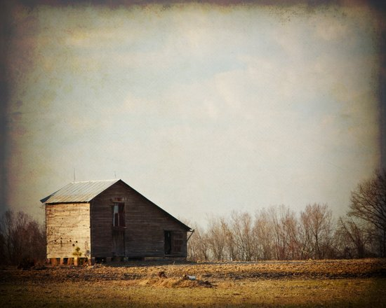 Pastoral with Barn Art Print