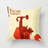 The Avengers Thor Throw Pillow