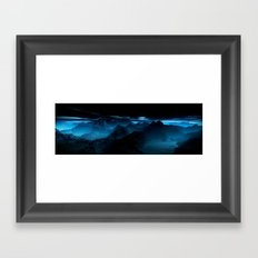 Dark Valley Framed Art Print