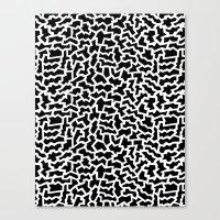 Geo Giraffe Canvas Print