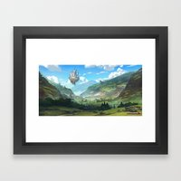 Lost Valley Framed Art Print