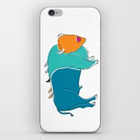Bristol Bison iPhone & iPod Skin