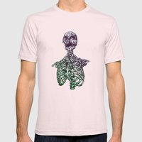 Inside out  Mens Fitted Tee Light Pink SMALL