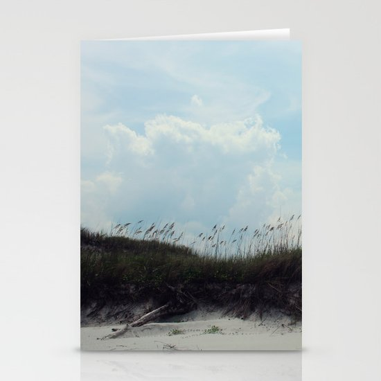 beach dunes Stationery Card