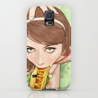 Galaxy S5 Cases featuring Life's a Picnic, Bring Your Friend by keith p. rein