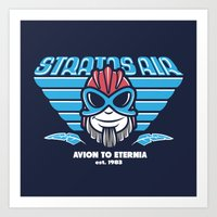 Avion To Eternia Art Print