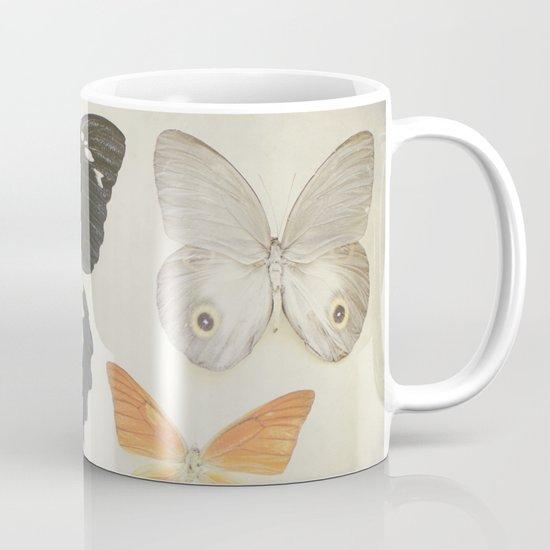 Brown Butterflies  Mug