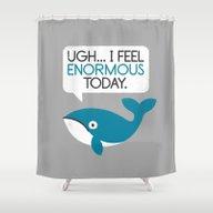 Water Weight Shower Curtain