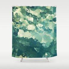 Fluidity #3 Shower Curtain