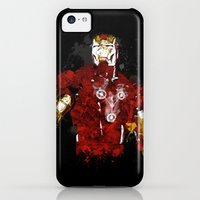 iPhone Cases featuring Iron Flux by Li.Ro.Vi