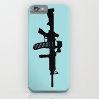Art Not War - Blue iPhone 6 Slim Case