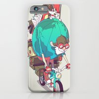 iPhone & iPod Case featuring Mr. Traveler by Vó Maria