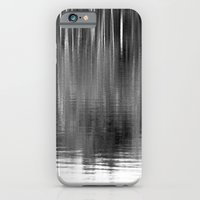 Abstract Trees Monochrom… iPhone 6 Slim Case