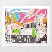 Milano Da Bere  Art Print