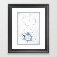 Delia Framed Art Print