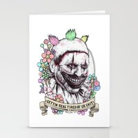 xoxo Twisty (color) Stationery Cards