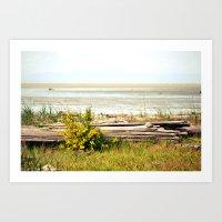 See The Horizon Break Art Print
