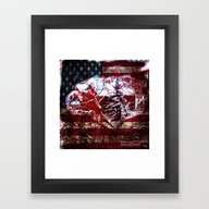 American Barn Framed Art Print