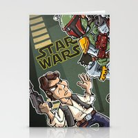 Star Wars - Han Solo X B… Stationery Cards