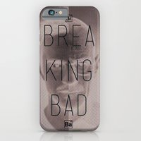breaking bad iPhone & iPod Cases featuring Breaking Bad by Nigel Sequeira
