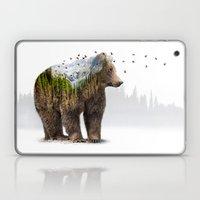 Wild I Shall Stay   Bear Laptop & iPad Skin