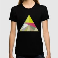 Deep Womens Fitted Tee Black SMALL