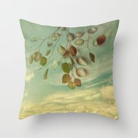 an impression of control Throw Pillow