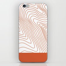 Contours I iPhone & iPod Skin