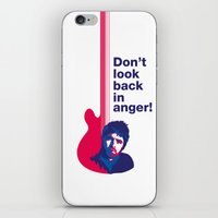 Noel Gallagher - Don't Look Back In Anger iPhone & iPod Skin