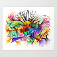Love Ink Art Print