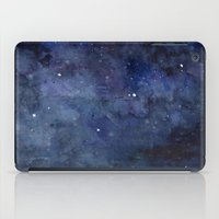 Night Sky Stars Galaxy | Watercolor iPad Case