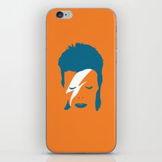 Ziggy Stardust - Orange iPhone & iPod Skin