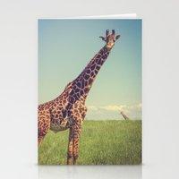 Mr. Giraffe Stationery Cards